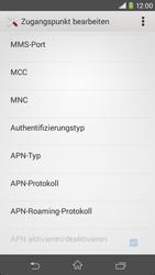 Sony Xperia M2 - Internet - Apn-Einstellungen - 12 / 19