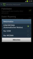Samsung I9300 Galaxy S III - Netzwerk - Netzwerkeinstellungen ändern - Schritt 7