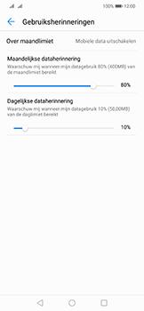Huawei Mate 20 Lite - internet - mobiele data managen - stap 13