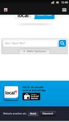 Sony Xperia S - Internet et roaming de données - Navigation sur Internet - Étape 11