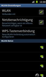 Samsung Galaxy S Advance - WiFi - WiFi-Konfiguration - Schritt 7
