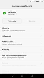 Huawei Huawei P9 - Applicazioni - Come disinstallare un