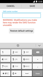 Huawei Ascend G6 - SMS - Manual configuration - Step 6