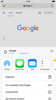 Apple iPhone 8 Plus - iOS 14 - Internet und Datenroaming - Verwenden des Internets - Schritt 6