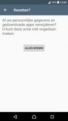 Sony Xperia XA - Android Nougat - Resetten - Fabrieksinstellingen terugzetten - Stap 7