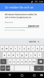 Sony E5603 Xperia M5 - Apps - Konto anlegen und einrichten - Schritt 11