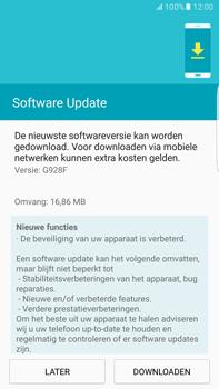 Samsung Samsung Galaxy S6 Edge+ (Android M) - software - update installeren zonder pc - stap 7