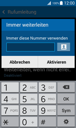 Samsung Galaxy Trend 2 Lite - Anrufe - Rufumleitungen setzen und löschen - 8 / 11