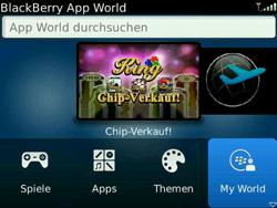 BlackBerry Bold - Apps - Konto anlegen und einrichten - 18 / 19