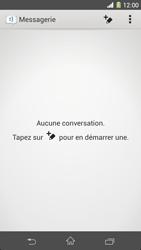 Sony Xpéria Z1 - Contact, Appels, SMS/MMS - Envoyer un SMS - Étape 4
