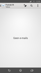 Sony D5803 Xperia Z3 Compact - E-mail - e-mail instellen (yahoo) - Stap 4