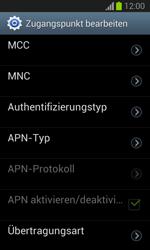 Samsung Galaxy Trend Lite - Internet und Datenroaming - Manuelle Konfiguration - Schritt 12