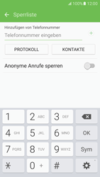 Samsung Galaxy S7 - Anrufe - Anrufe blockieren - 8 / 12