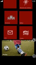 HTC Windows Phone 8X - Prise en main - Personnalisation de votre écran d