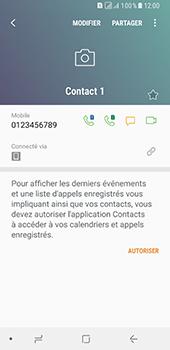 Samsung Galaxy A8 - Contact, Appels, SMS/MMS - Ajouter un contact - Étape 10
