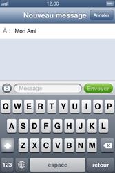 Apple iPhone 4 - iOS 6 - MMS - envoi d'images - Étape 6