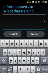 Sony Xperia Tipo Dual - Apps - Konto anlegen und einrichten - 2 / 2