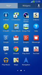 Samsung Galaxy S 4 Active - Applications - Setting up the application store - Step 3
