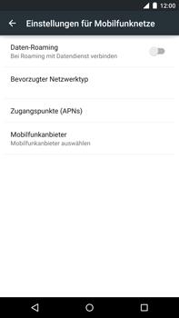 Motorola Google Nexus 6 - Internet - Apn-Einstellungen - 1 / 1