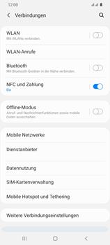 Samsung Galaxy S20 Ultra 5G - Internet und Datenroaming - Prüfen, ob Datenkonnektivität aktiviert ist - Schritt 5
