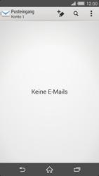 Sony Xperia Z2 - E-Mail - E-Mail versenden - 0 / 0