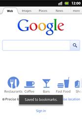 Sony ST27i Xperia Go - Internet - Internet browsing - Step 8
