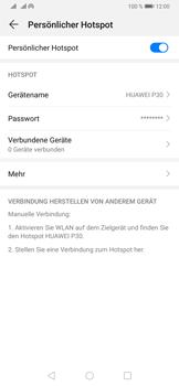 Huawei P30 - WiFi - So aktivieren Sie einen WLAN-Hotspot - Schritt 10