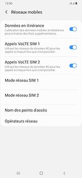Samsung Galaxy A50 - Internet et roaming de données - Désactivation du roaming de données - Étape 6