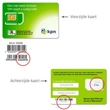 BlackBerry Classic - Nieuw KPN Mobiel-abonnement? - In gebruik nemen nieuwe SIM-kaart (bestaande klant) - Stap 4