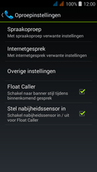 Acer Liquid Z520 - Voicemail - handmatig instellen - Stap 6