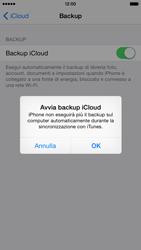 Apple iPhone 6 iOS 8 - Applicazioni - Configurazione del servizio Apple iCloud - Fase 12