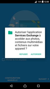 Sony Xperia Z5 Premium (E6853) - Android Nougat - E-mail - Configuration manuelle (outlook) - Étape 11