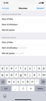 Apple iPhone X - iOS 12 - E-mail - Configuration manuelle - Étape 15