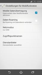 Sony Xperia Z3 Compact - Netzwerk - Netzwerkeinstellungen ändern - 8 / 8