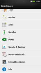 HTC One - Software - Installieren von Software-Updates - Schritt 5