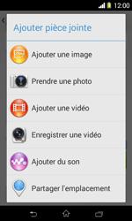 Sony D2005 Xperia E1 - MMS - envoi d'images - Étape 14