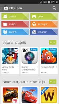 Samsung Galaxy Note 4 - Applications - Configuration de votre store d