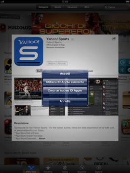 Apple iPad mini - Applicazioni - Configurazione del negozio applicazioni - Fase 7