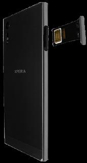 Sony Xperia XZ - Android Nougat - SIM-Karte - Einlegen - Schritt 5