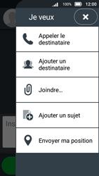 Doro 8031 - Contact, Appels, SMS/MMS - Envoyer un MMS - Étape 9