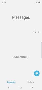 Samsung Galaxy Note 10 - Contact, Appels, SMS/MMS - Envoyer un SMS - Étape 4