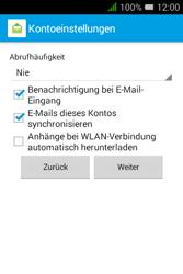 Alcatel Pixi 3 (3.5) - E-Mail - Konto einrichten - 21 / 23