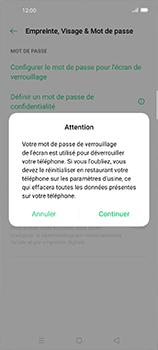 Oppo Find X2 Neo - Sécuriser votre mobile - Activer le code de verrouillage - Étape 6