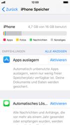 Apple iPhone 5s - Apps - Automatisches Entfernen nicht genutzter Apps aktivieren - 1 / 1