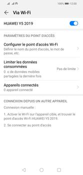 Huawei Y5 (2019) - Internet - comment configurer un point d'accès mobile - Étape 13