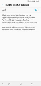 Samsung Galaxy A6 Plus - toestel resetten - back-up maken met jouw account - stap 10