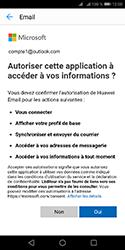 Huawei Y5 (2018) - E-mails - Ajouter ou modifier votre compte Outlook - Étape 8