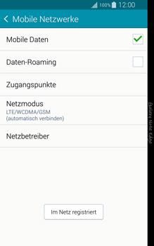 Samsung Galaxy Note Edge - Netzwerk - Manuelle Netzwerkwahl - Schritt 10