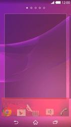 Sony Xperia Z2 - Prise en main - Installation de widgets et d