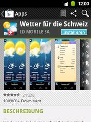 Samsung Galaxy Y - Apps - Installieren von Apps - Schritt 14